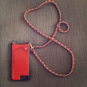 Lucy Bandolier Deep Red iPhone 8/7/6 Plus case
